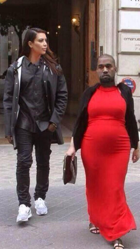 Kimye Head Swap Haha Funny Face Swap Face Swaps Kanye West And Kim
