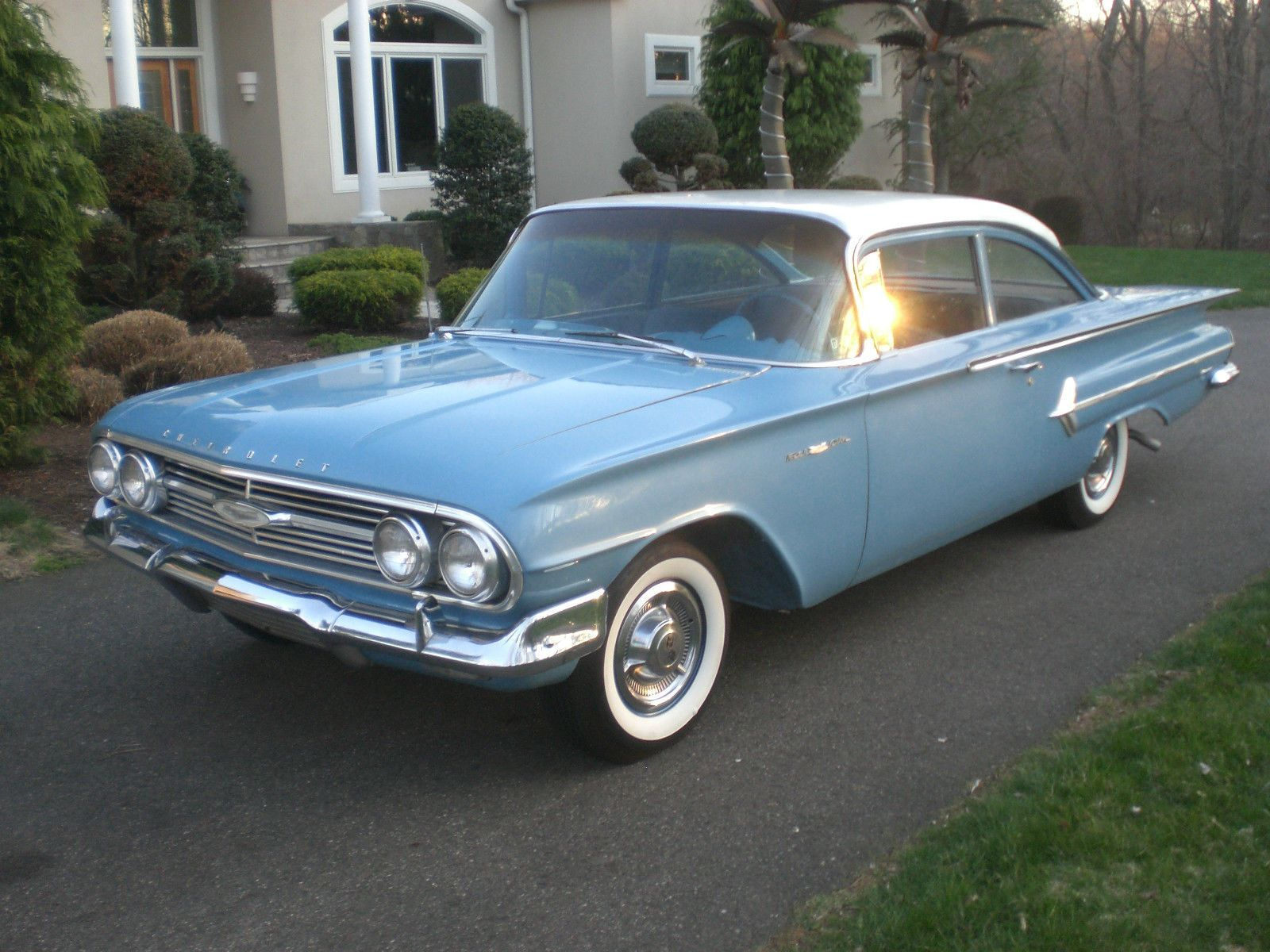 Beau 1960 Chevrolet Biscayne 2 Door Sedan Maintenance/restoration Of Old/vintage  Vehicles: