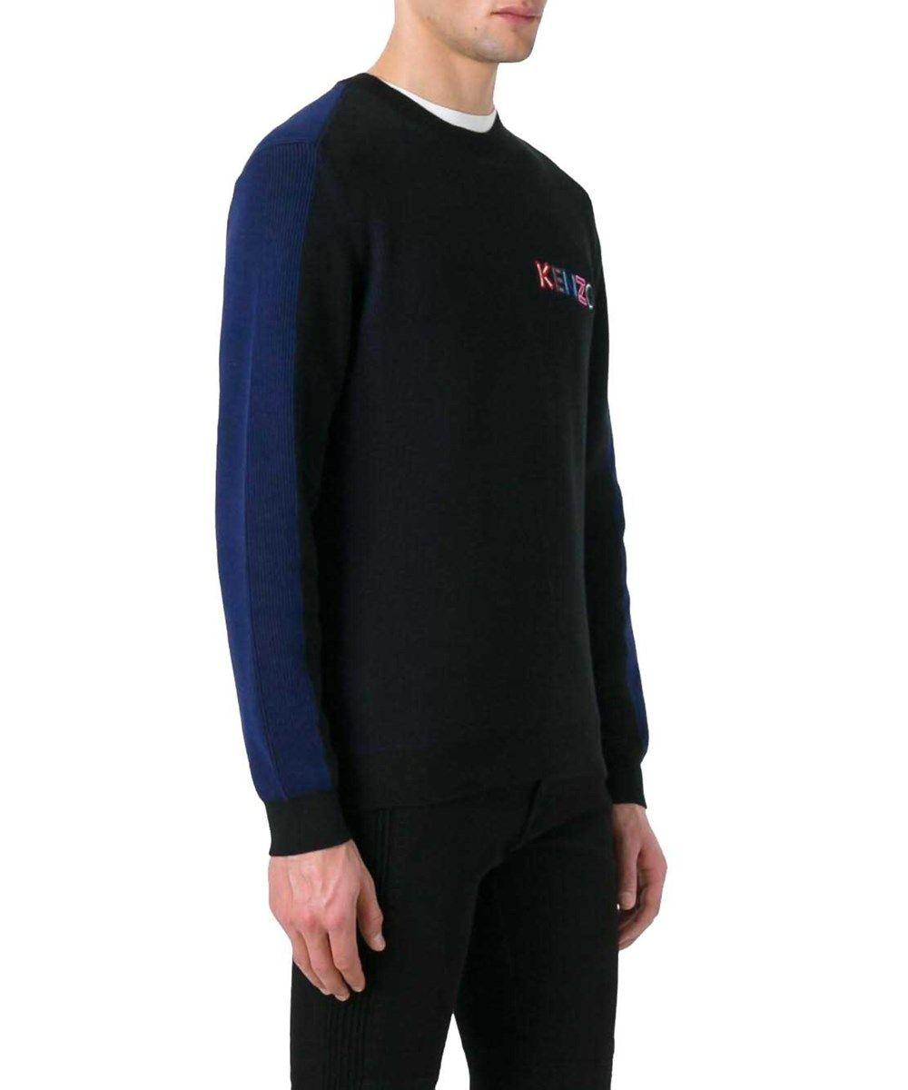 KENZO Kenzo Men'S F755Pu2223Lc99 Black Cotton Sweater'. #kenzo ...