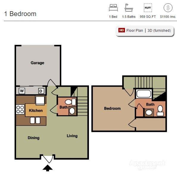 Apartment Guide, Floor Plans, Las Vegas