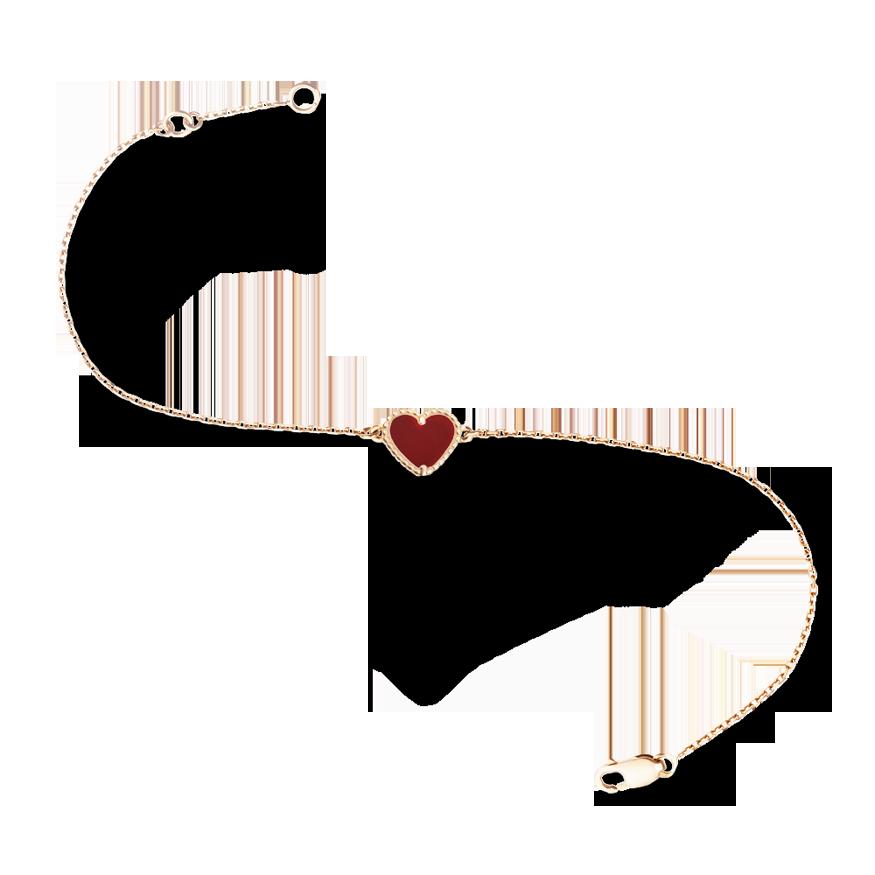 Van Cleef & Arpels - Sweet Alhambra Heart bracelet