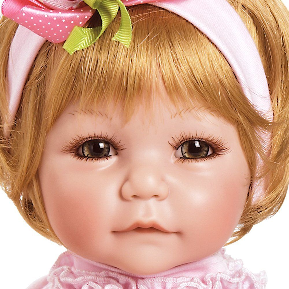 Gorgeous Butterfly Toddler Girl Doll Blonde Hair Hazel Eyes Realistic Life Like