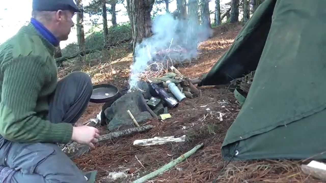 A Night In A Polish Lavvu Bushcraft Camping Style