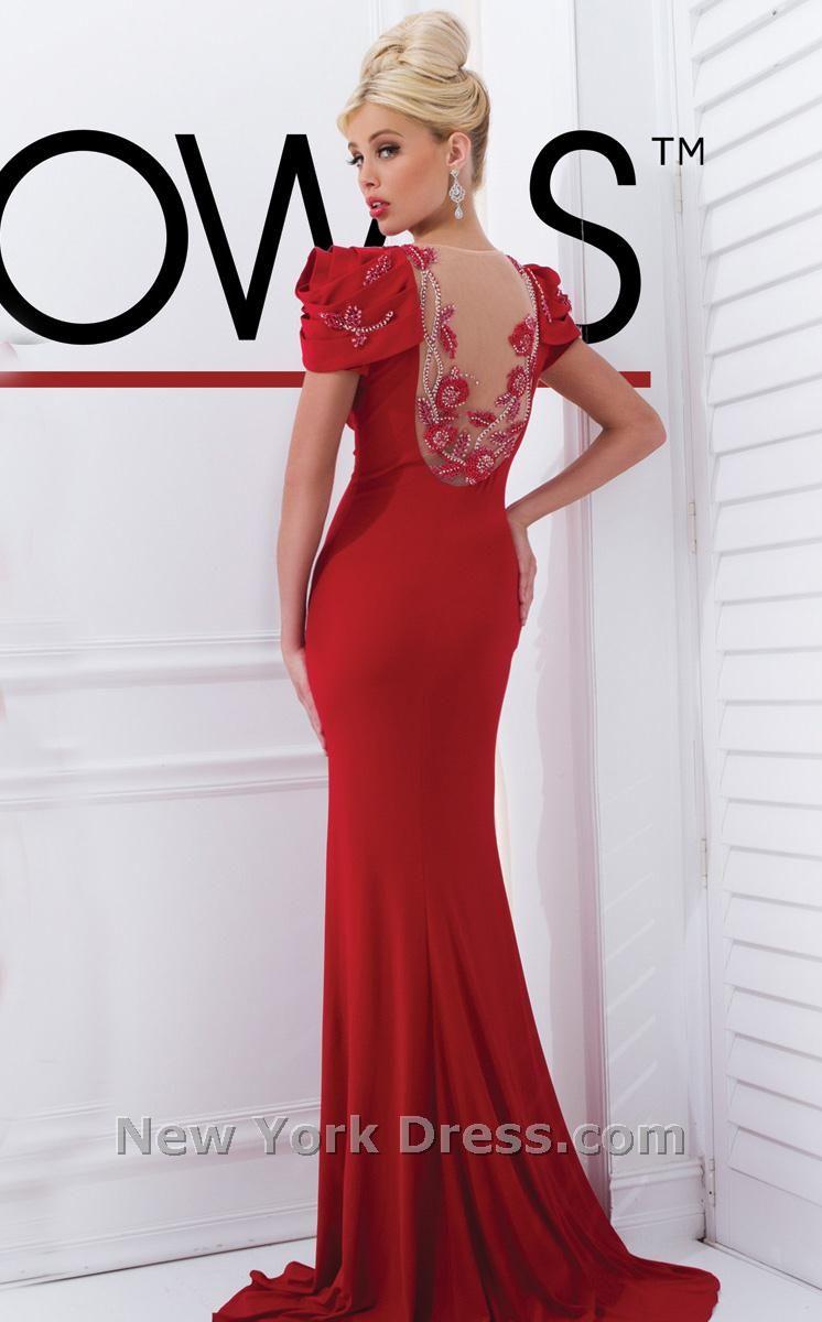 Tony Bowls Red Dress