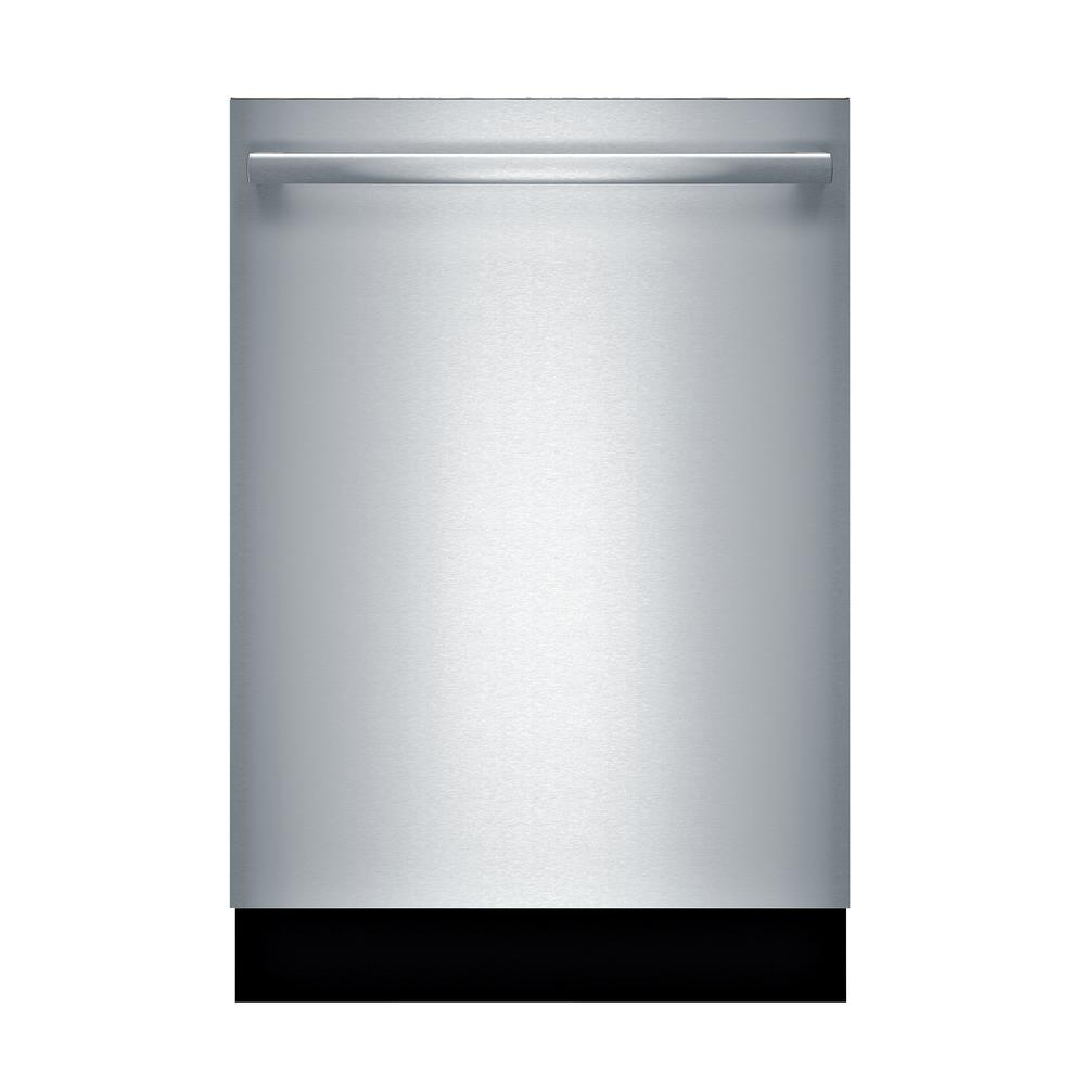 Bosch 800 Series 24 In Stainless Steel Top Control Tall Tub Dishwasher With Stainless Steel Tub Crystaldry 40dba Shxm88z75n The Home Depot Built In Dishwasher Steel Tub Bosch Dishwashers