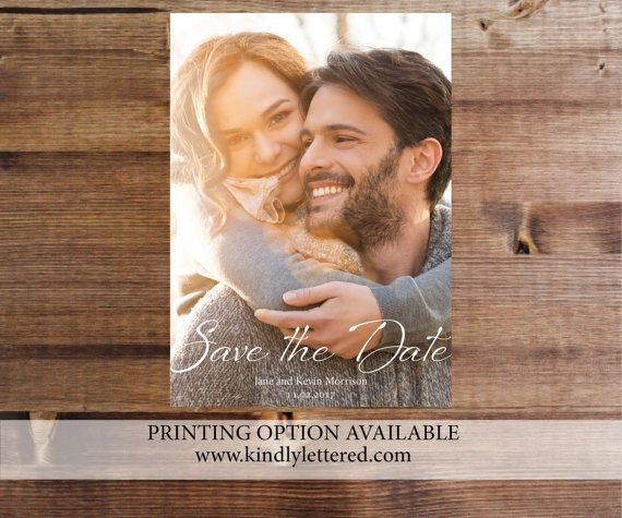 Save the Date-Photo Card Engagement Invite-Digital Invitation-Photo Card-Digital File-Printable Save-the-Date–5×7 Digital Invitations-017
