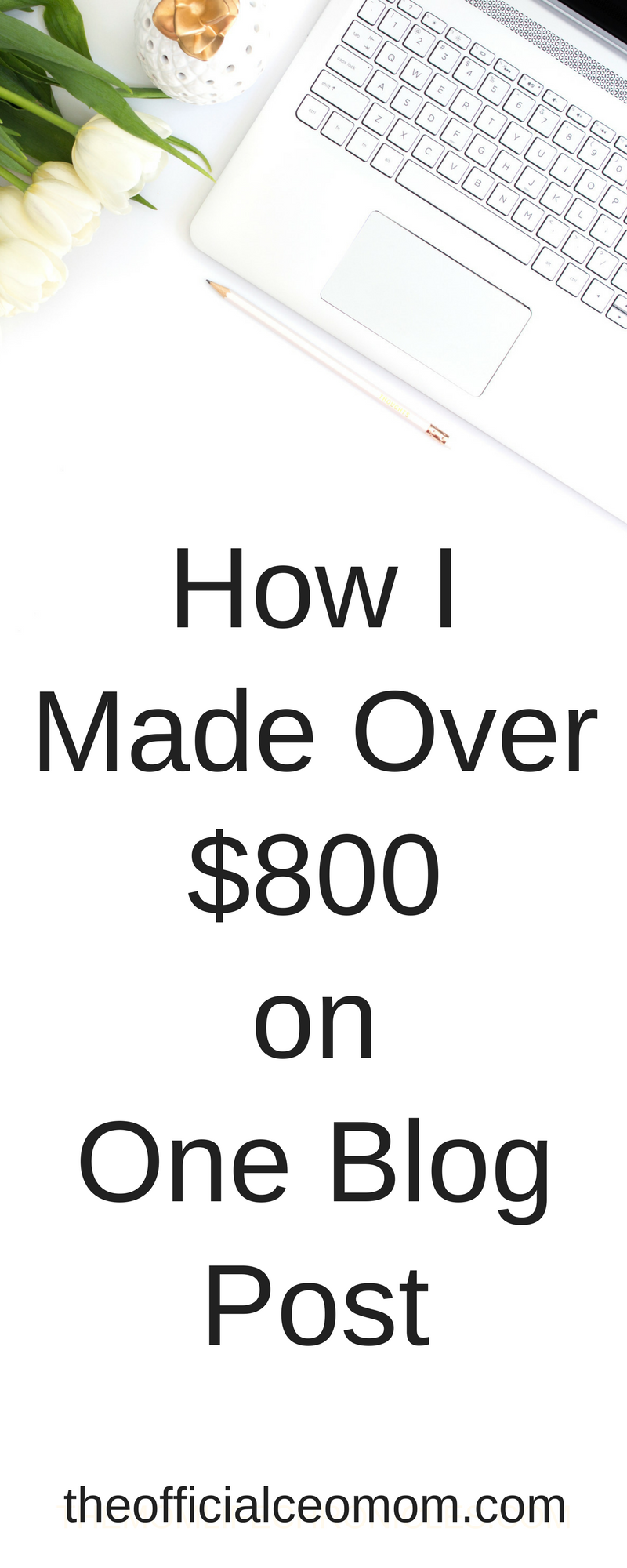 How I Made Over $800 on One Blog Post| How to Make Money