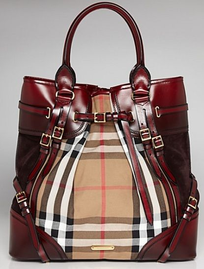 Burberry Whipstitch Tote