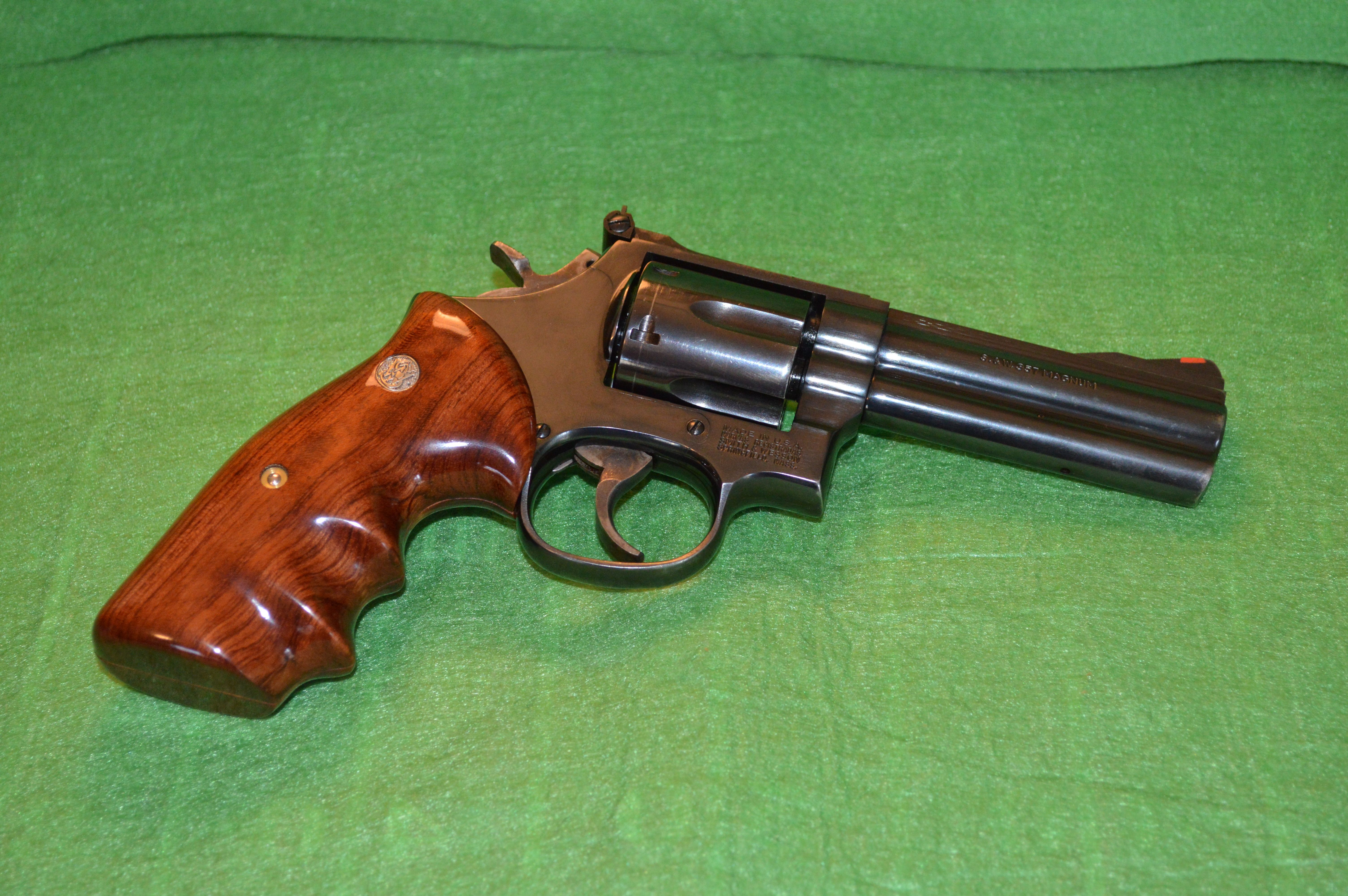 Pin on Smith & Wesson 586