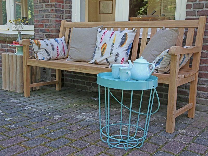 Sunyard Wales Gartenbank 150 cm Dekor, Gartenmöbel