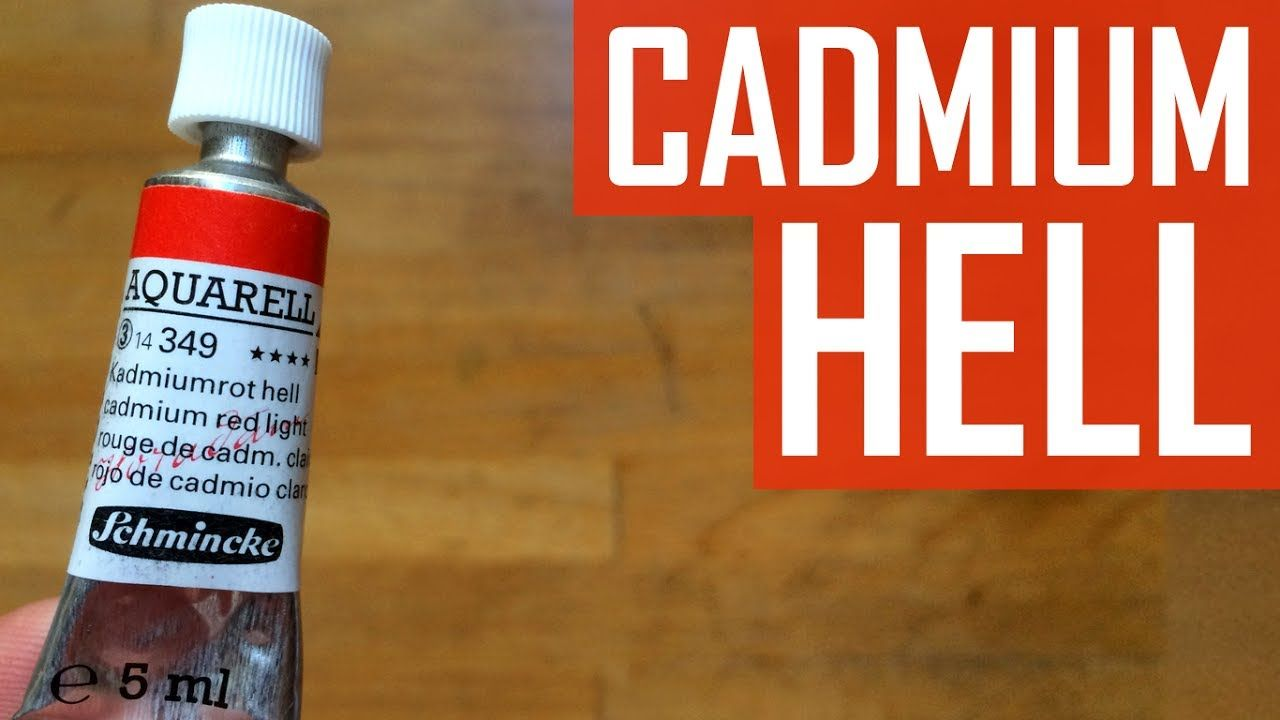 Cadmium Red Light Schmincke Horadam Watercolor The Paint Show