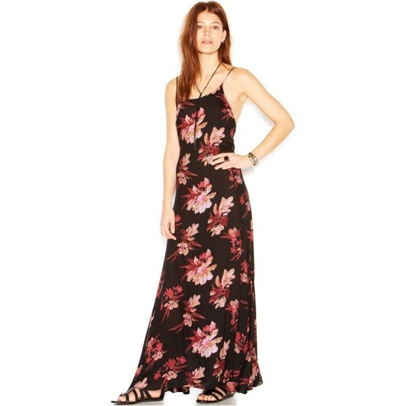 66a98bfcc77c3 Free People Intimately Star Chasing Floral Maxi NWT. Fits like a small.  Gauze material - can be worn with or without slip (there is not slip in the  dress).