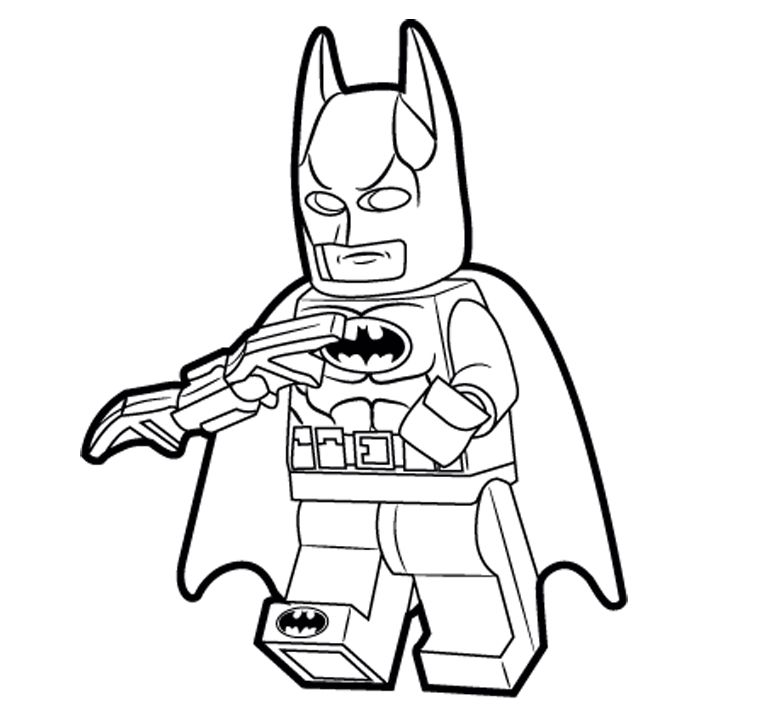 child superhero coloring pages - photo#21