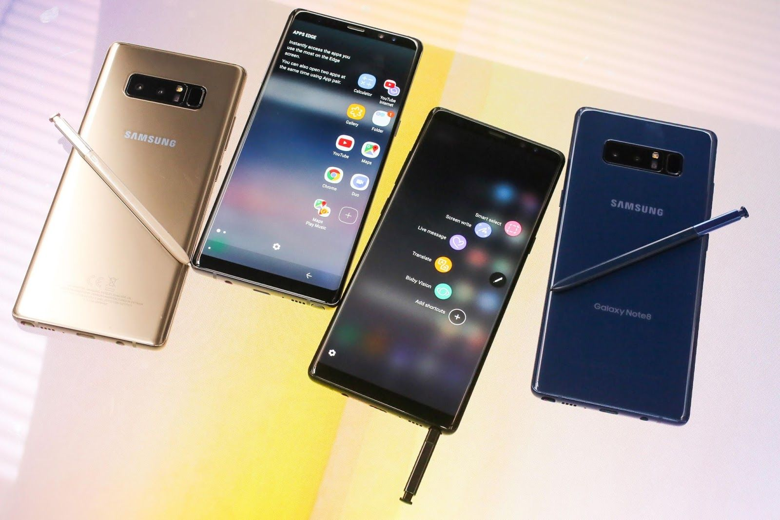 Want to know about Samsung's latest Note 8? A direct