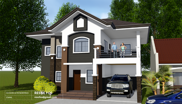 3 Bedroom 2 Storey Residential Building With Images
