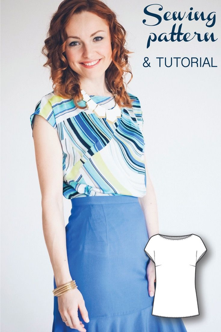 Blouse Patterns - Easy Sewing Projects - Sewing Tutorials - Fashion