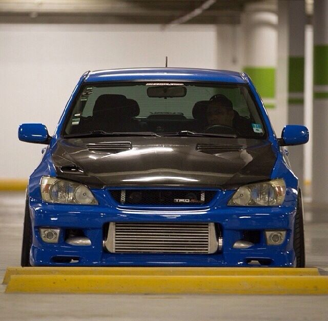 Gentil Sweet Blue Altezza With Custom Front