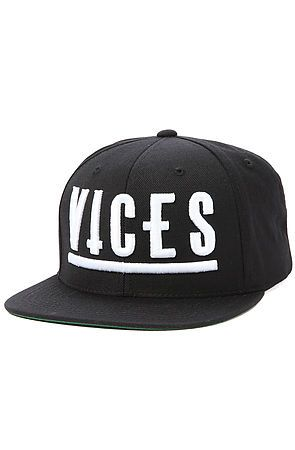 74c5ba263db The Vices Snapback in Black by Civil use rep code  OLIVE for 20% off ...