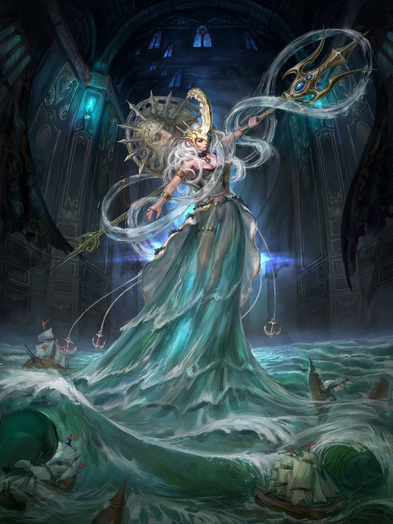 Poseidon by inshoo1 | Greek gods and godesses in 2019 ...