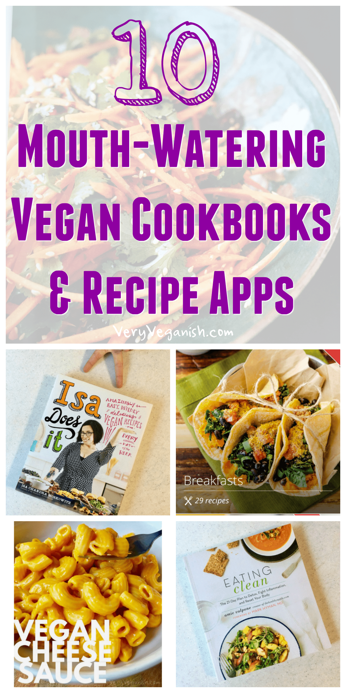 10 mouth watering vegan cookbooks and recipe apps vegan cookbook 10 mouth watering vegan cookbooks and plant based recipe apps to make cooking easier forumfinder Choice Image