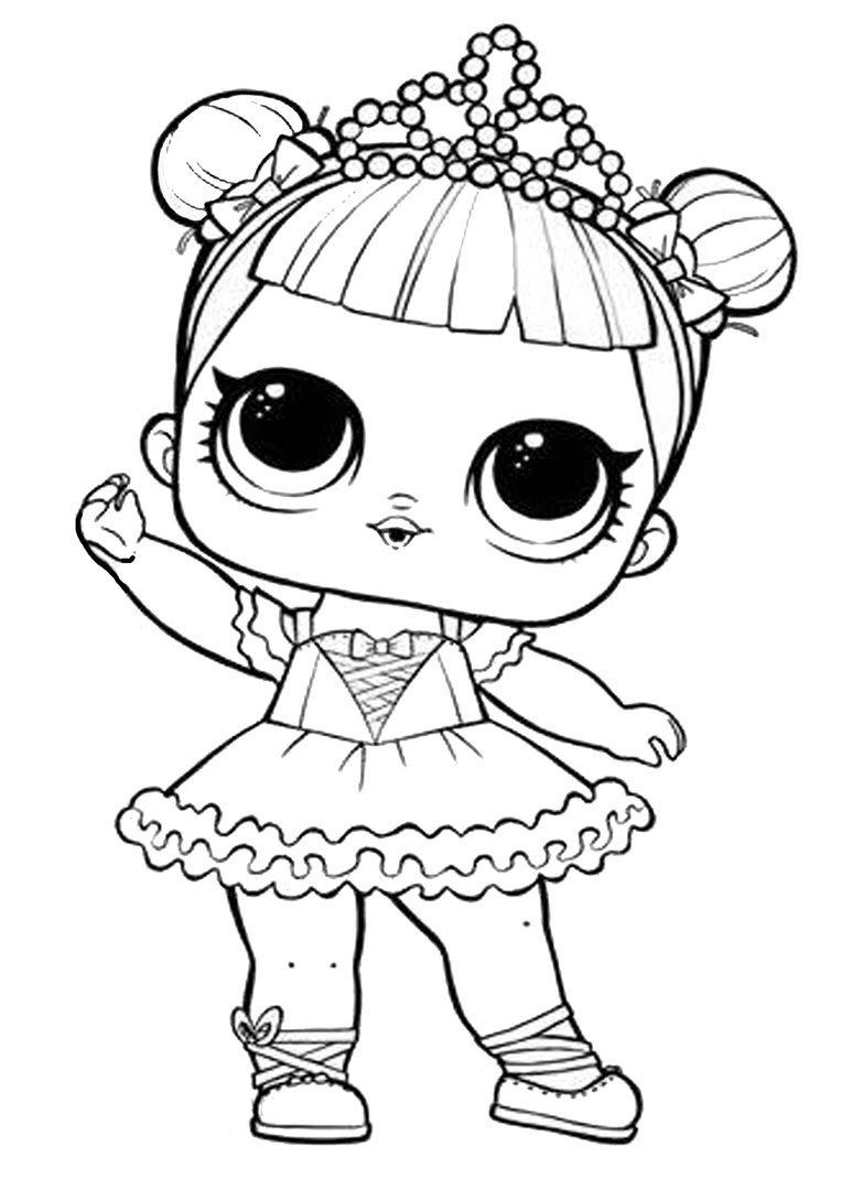 Lol Surprise Coloring Page Cool Coloring Pages Lol Dolls Coloring Books