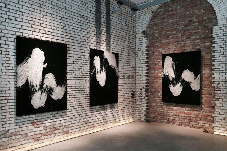 Fabienne Verdier - Contemporary Artist - L'art de la calligraphie monumentale - Königsklasse II