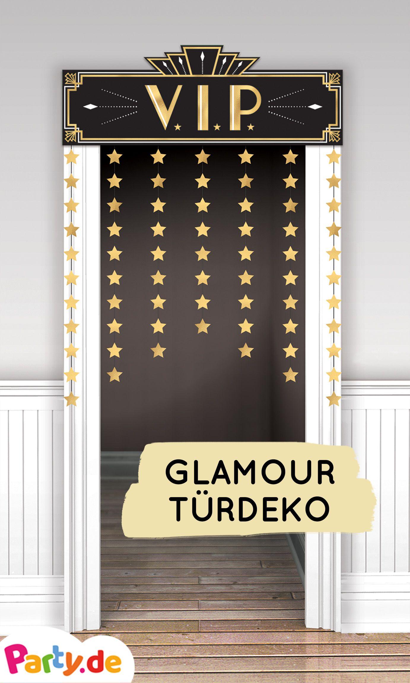 Photo of Shine & glamor decorative door curtain