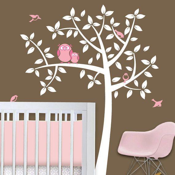 Owel Themed Nursery Owl Tree Baby Theme