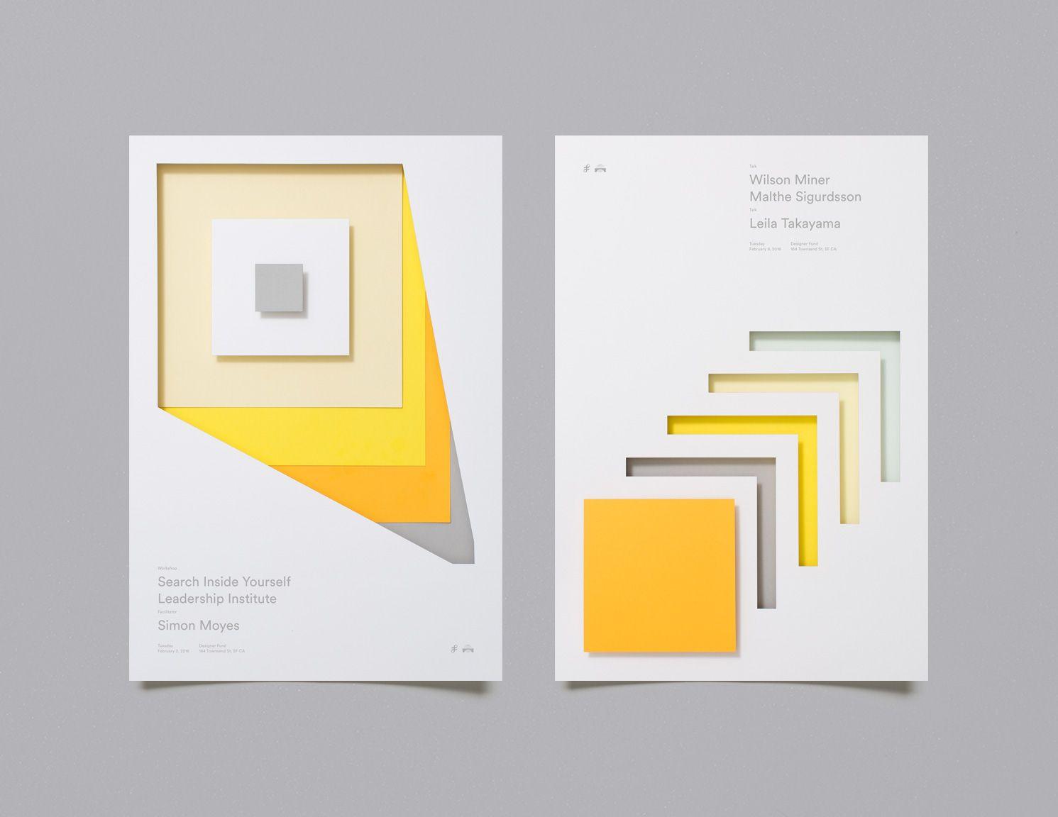 Design poster yourself - Moniker X Designer Fund Gorgeous Cutout Poster Series
