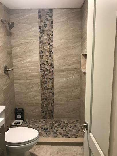 Accent Tile Application Example In 2020 Bathroom Tile Designs Shower Remodel Bathroom Interior Design
