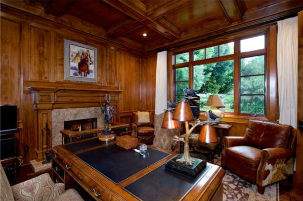 Wood Paneled Rooms Office | Wood Paneled Study