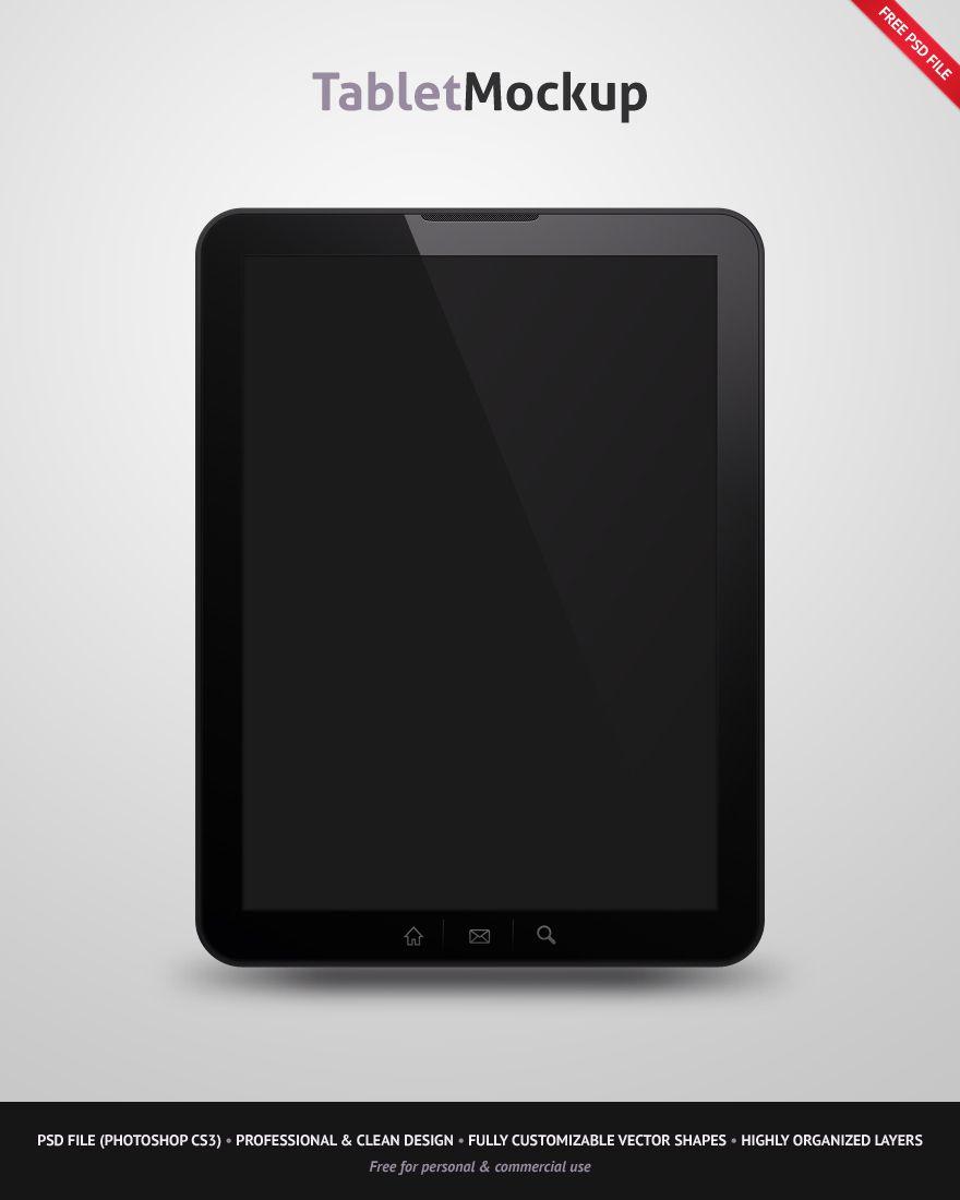 Free Tablet Mockup Tablet Mockup Tool Design