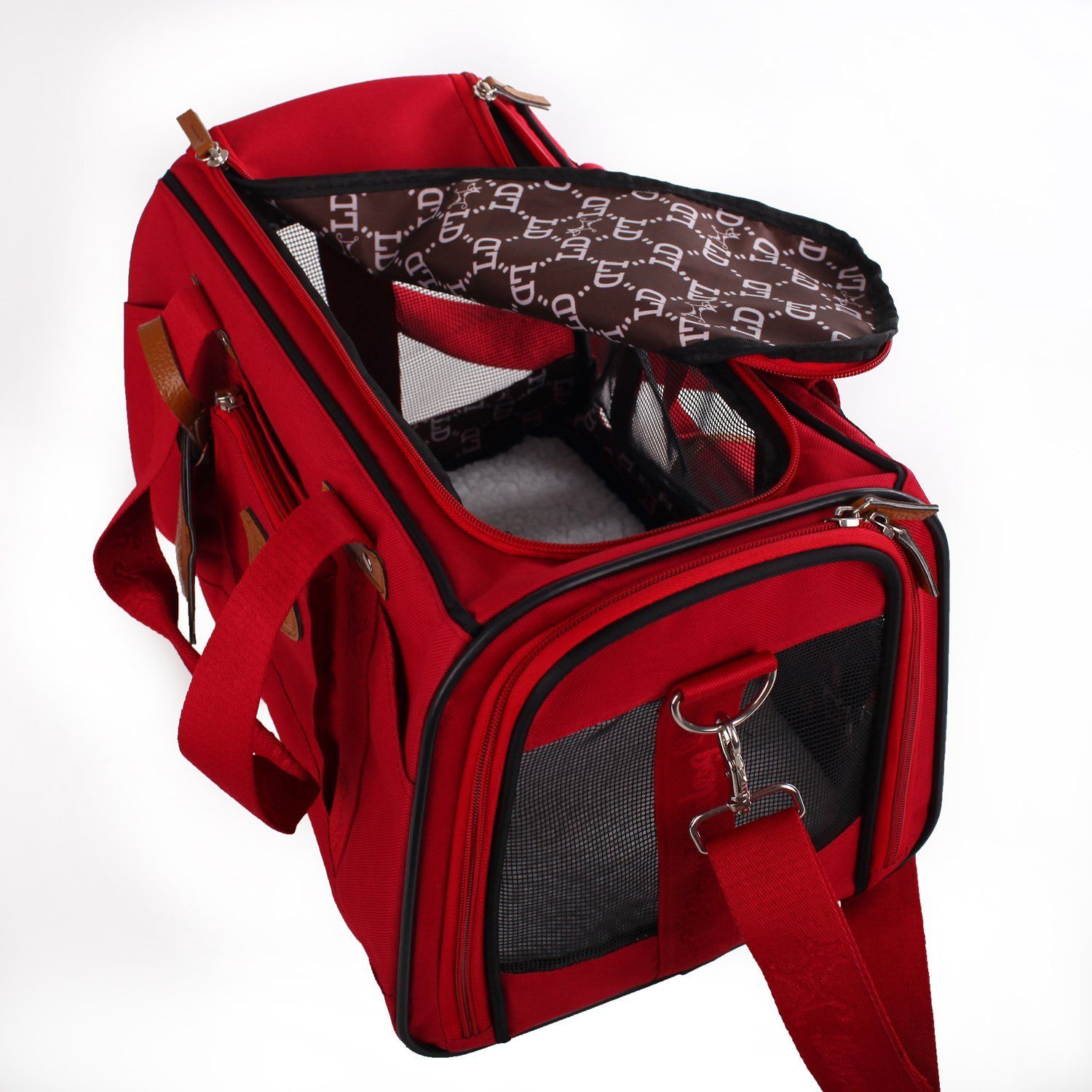 Superieur Soft Sided Travel Pet Carrier For Dog Or Cat. Airline Approved For In Cabin  Under