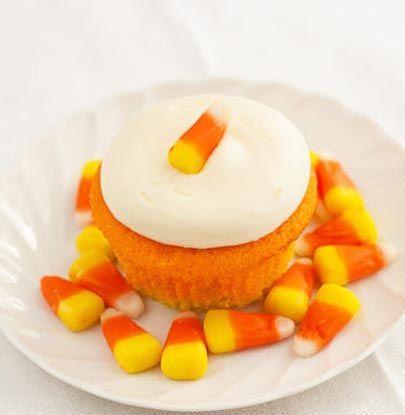 Candy Corn Cupcakes Post Image