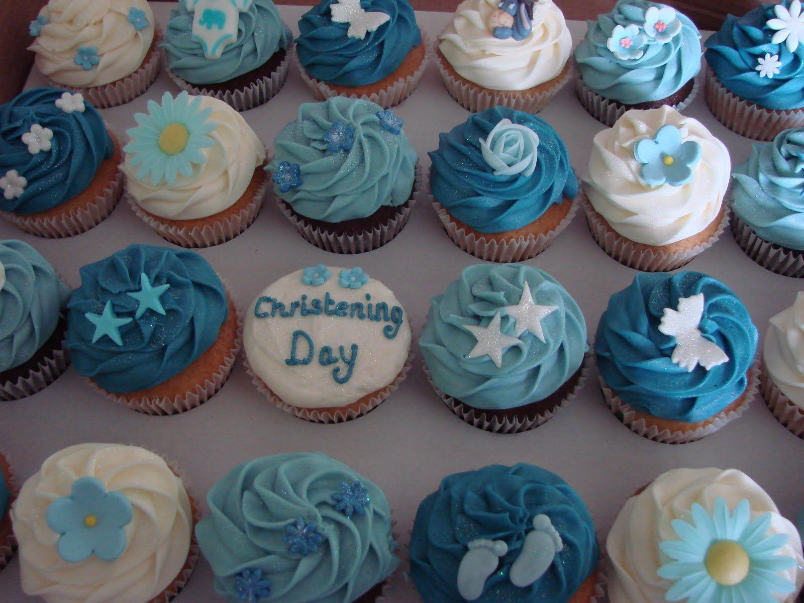 Baby Christening Cupcakes