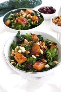 Fall Pumpkin Salad-The Almond Eater