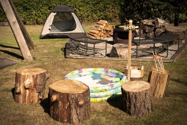 Want To Head To The Great Outdoors With Us To See Camping Themed