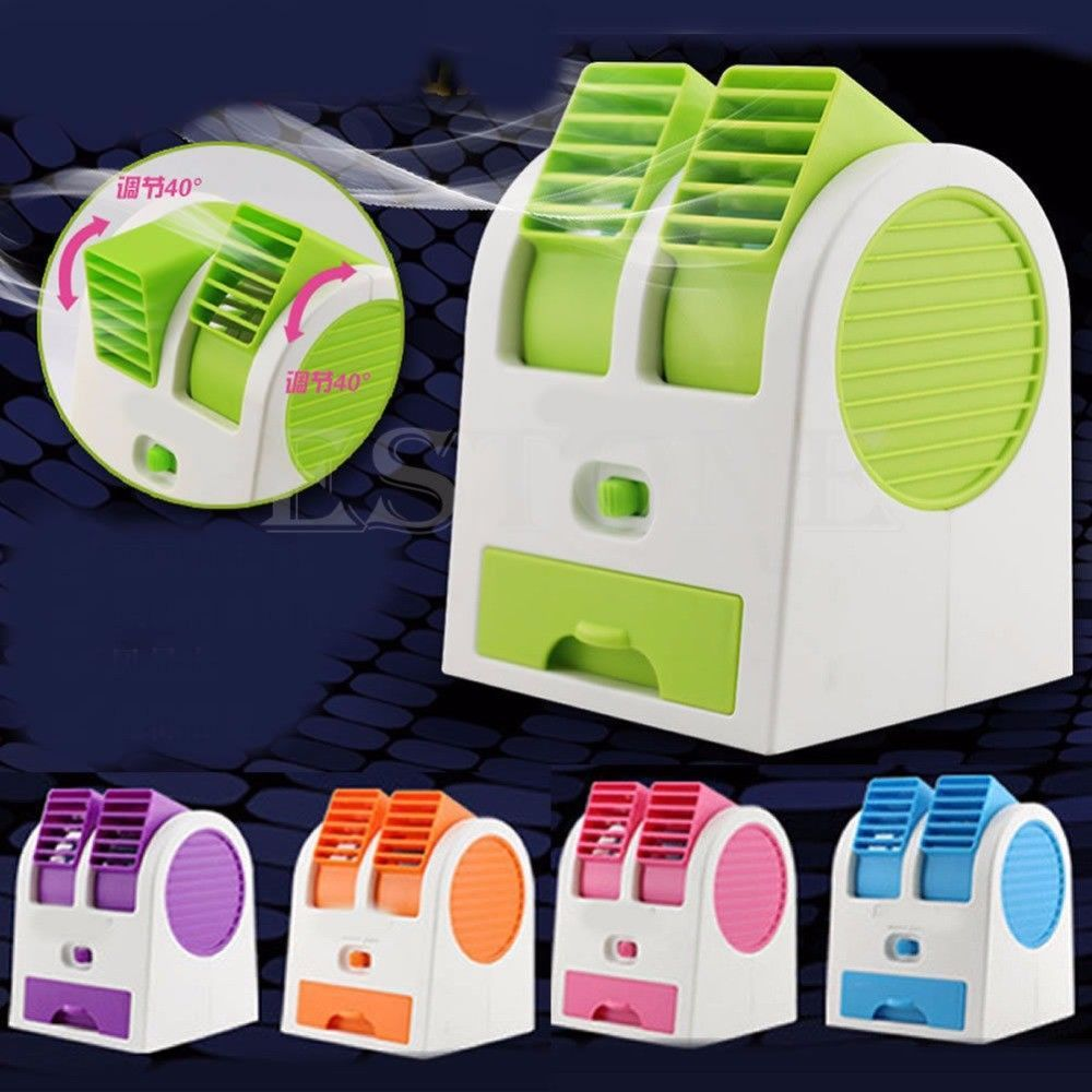 Mini Handheld Portable Fan Air Conditioner Water Cooler
