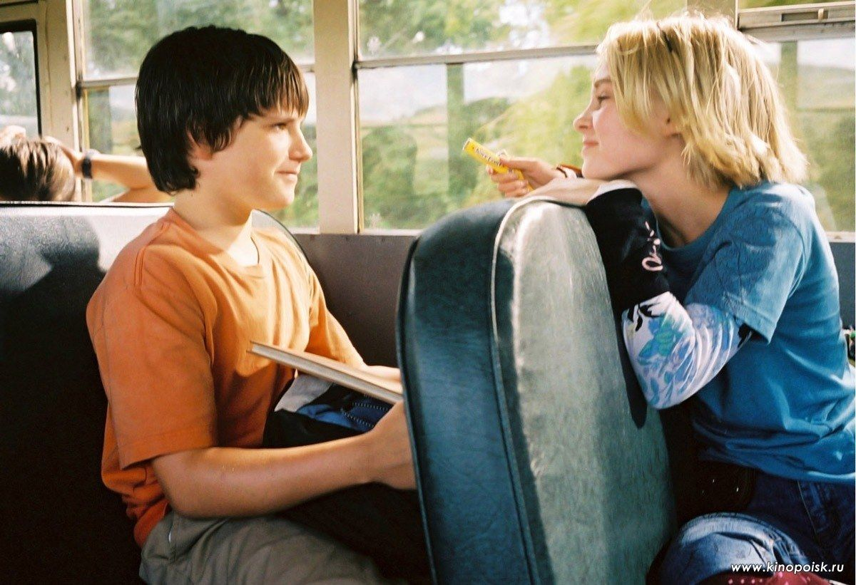 Jess (Josh Hutcherson) and Leslie (AnnaSophia Robb) from Bridge to ...