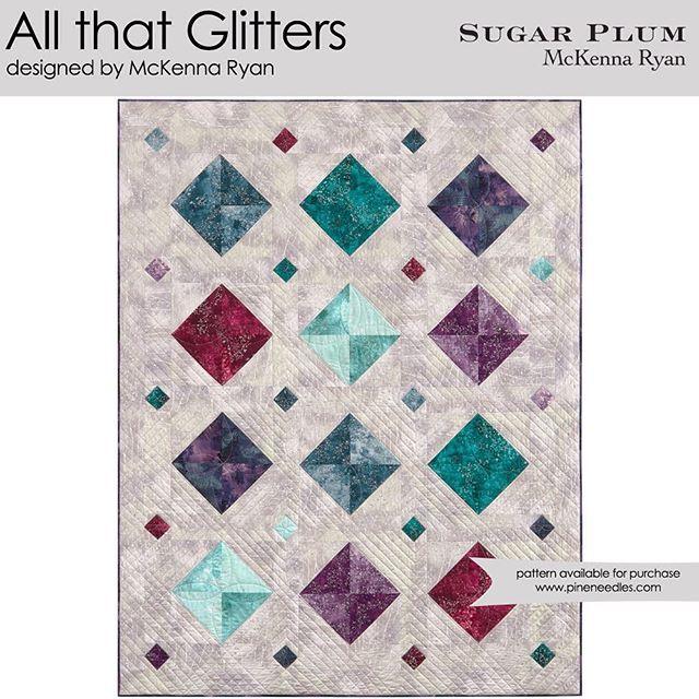 All That Glitters designed by McKenna Ryan. Features Sugar Plum by McKenna Ryan, shipping to stores June 2016. #mckennaryandesign