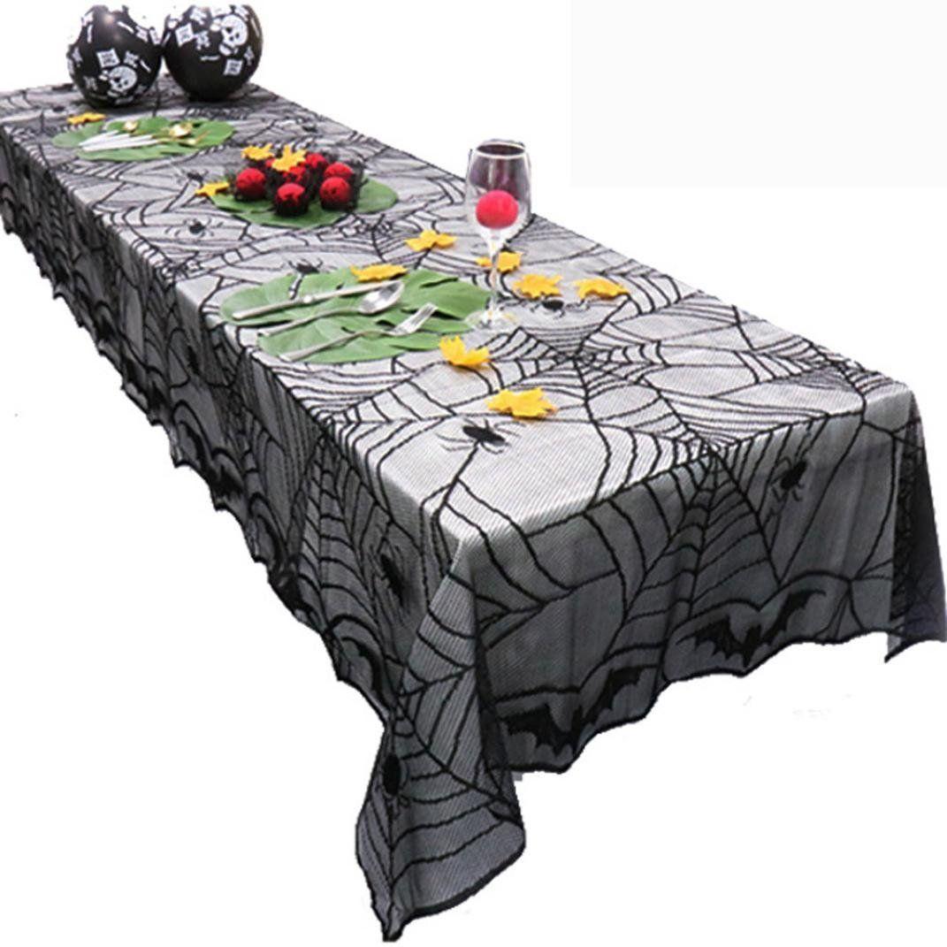 Dekoration für #Halloween Upxiang Halloween Tischdecke, Halloween ...