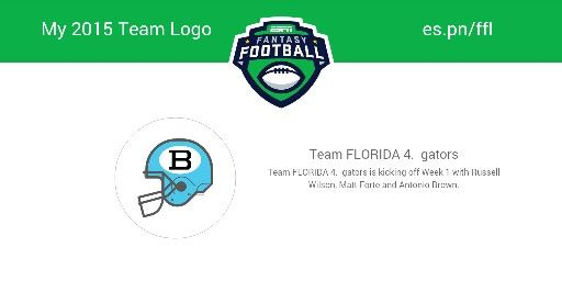 My logo | Fantasy football logos, Espn fantasy football ...