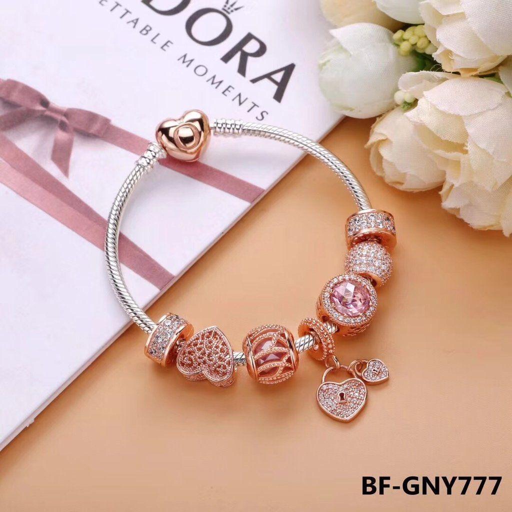 Pandora rose gold charm bracelet goldcharmbracelet gold bracelets
