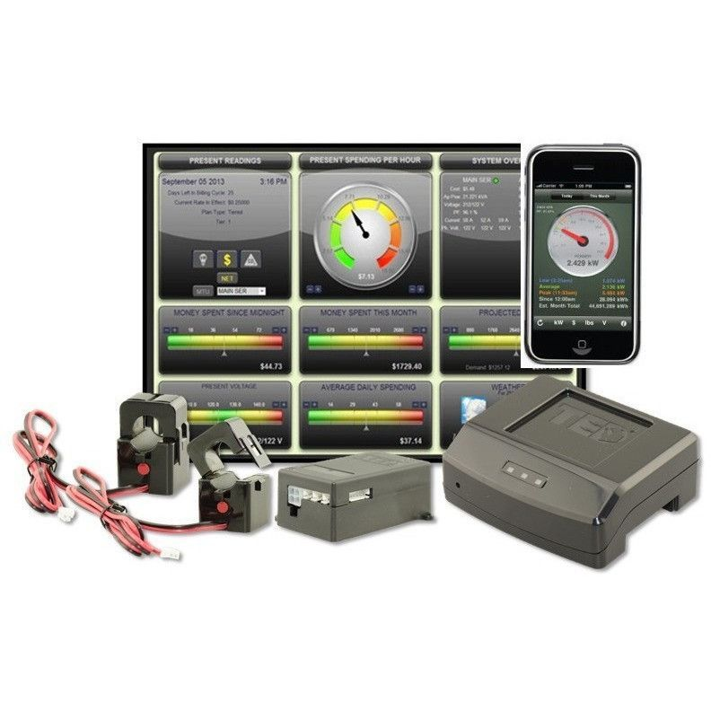 TED Pro Home Energy Monitoring System Energy management