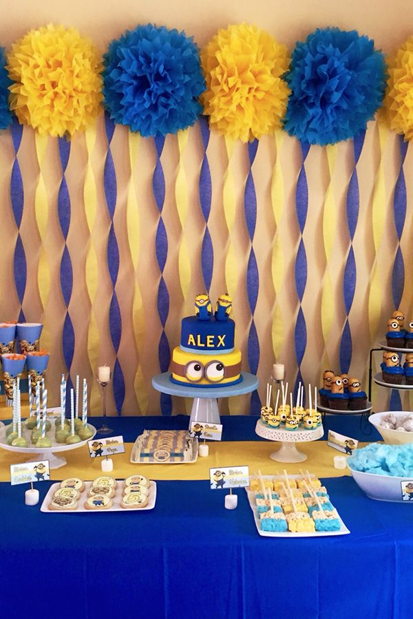 21 best birthday party themes not only for kids: Minions # ...