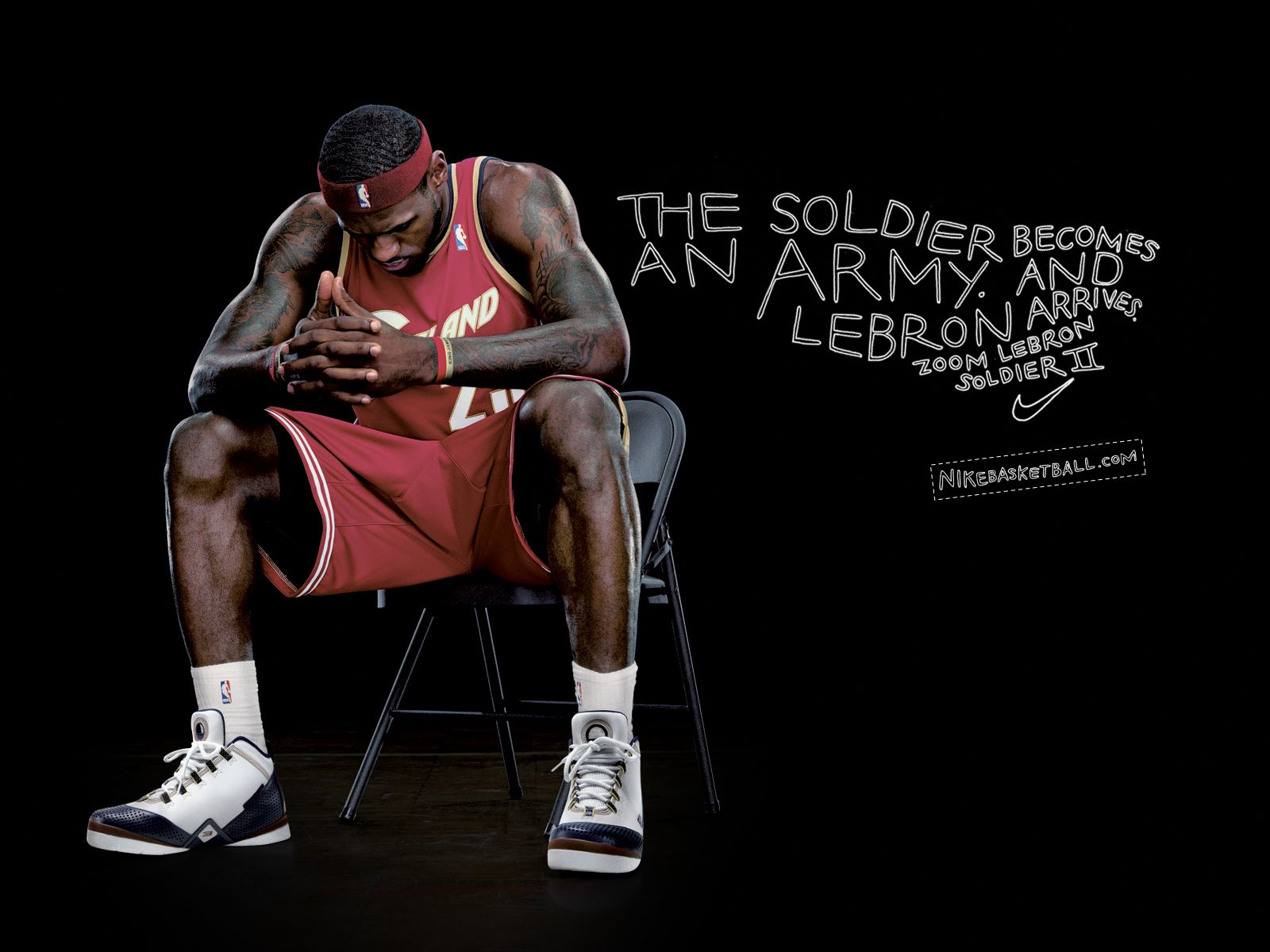 official photos 27d04 ae893 the soldier becomes an army | nike zoom lebron soldier ii ...