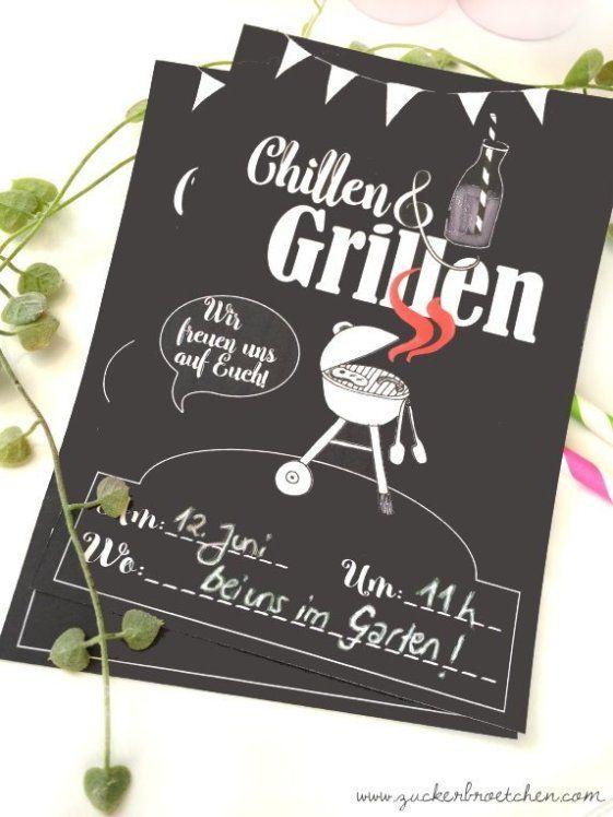 Photo of Einladung zum Chillen und Grillen