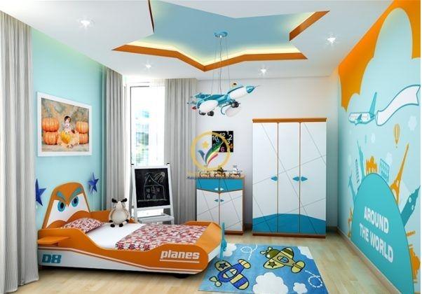 غرفة أولاد صغار مع الدولاب Bedroom Design Styles Small Space Kids Rooms Kids Bedroom Decor
