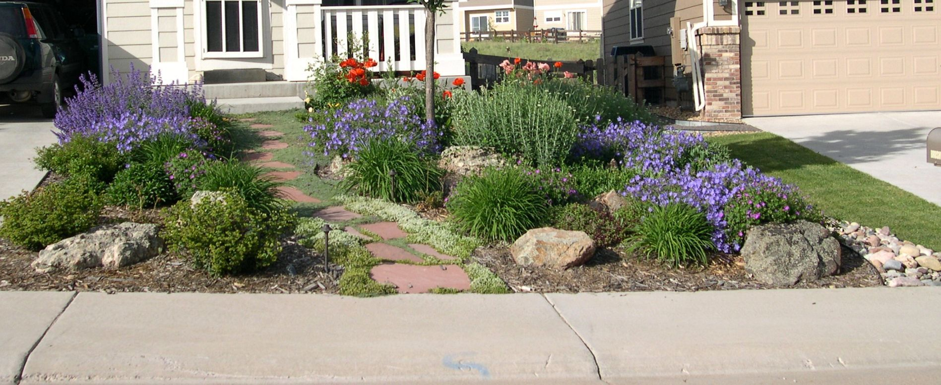 Small Yard Landscaping Ideas Xeriscape | The Garden ... on small desert yards, small cottage yards, small patio yards, small zen yards, small tropical yards, small concrete yards, small grass yards, small natural yards, small modern yards,