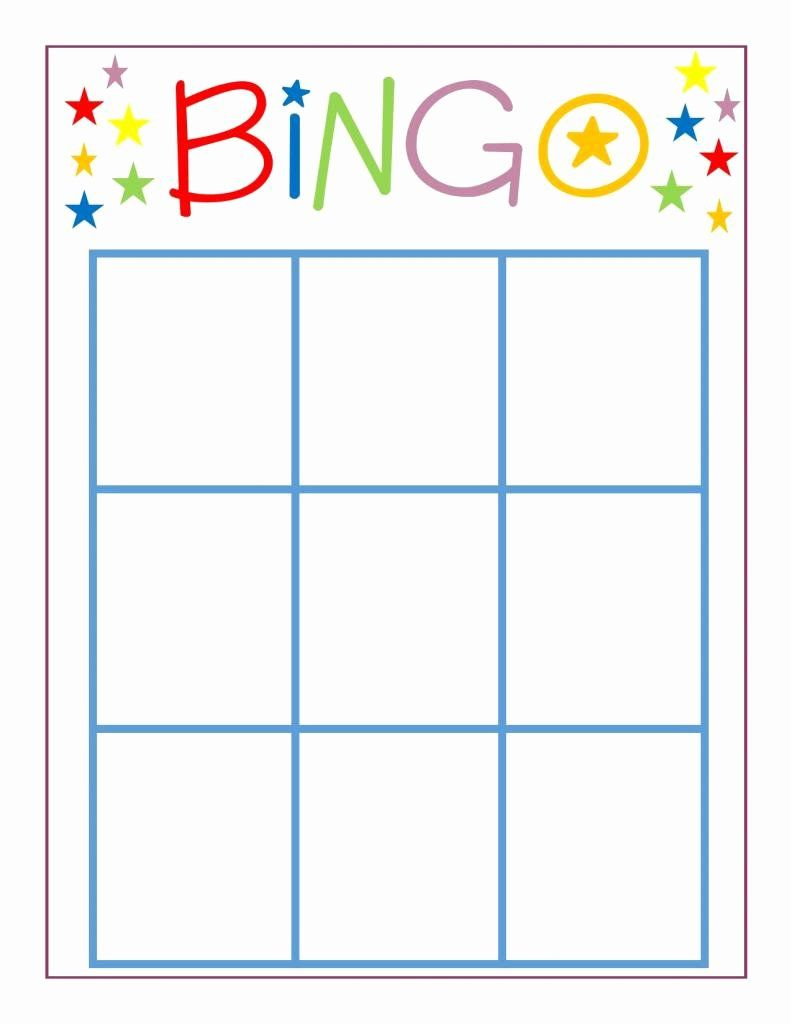 Blank Game Card Template New Family Game Night Bingo Bingo Card Template Bingo Cards Printable Bingo Sheets